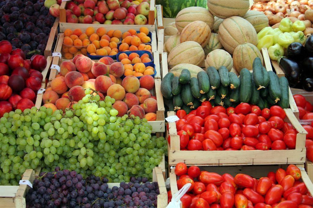 Об экспорте овощей и фруктов.
